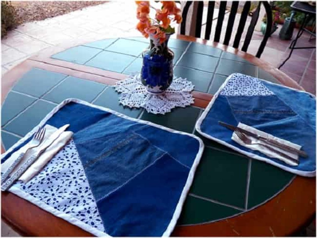 Homemade Tablemats