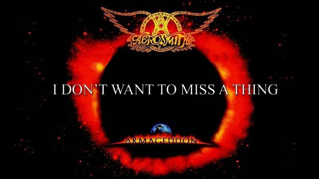 """I Don't Want to Miss a Thing,"" by Aerosmith"