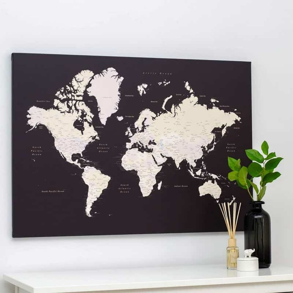 World Map Board