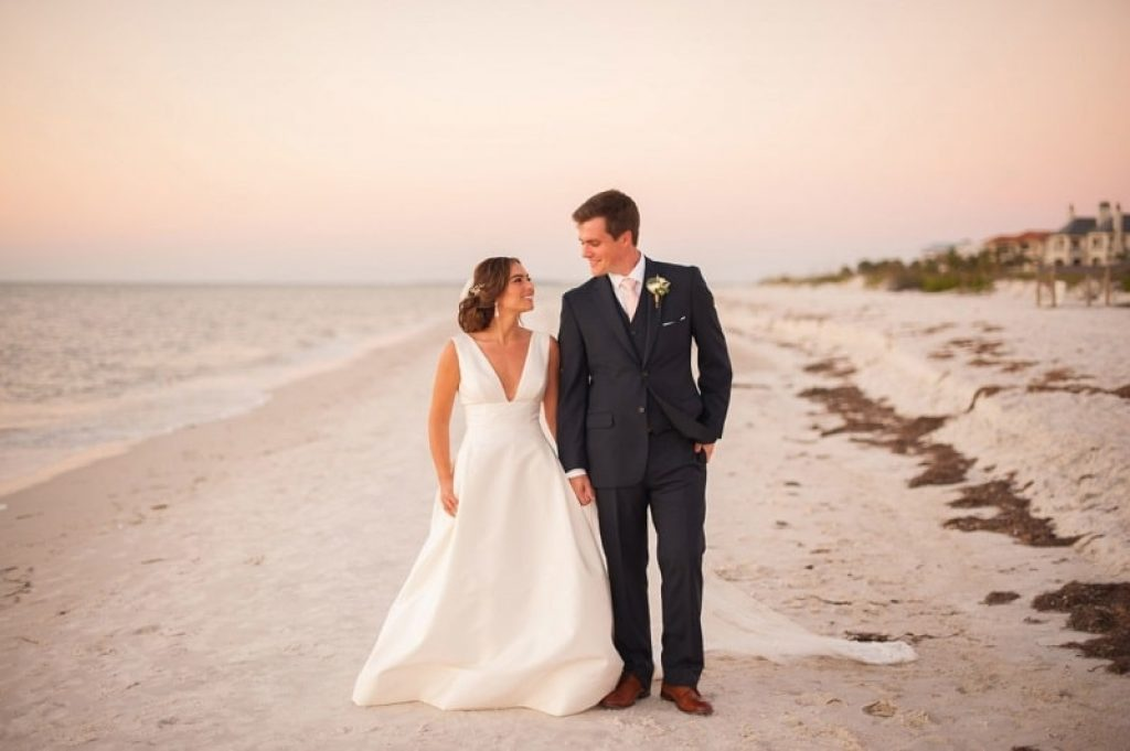 formal beach wedding dresses