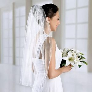 What Are Wedding Veils Made Of