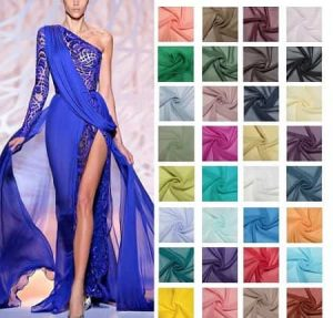 Fabrics for Evening Gowns