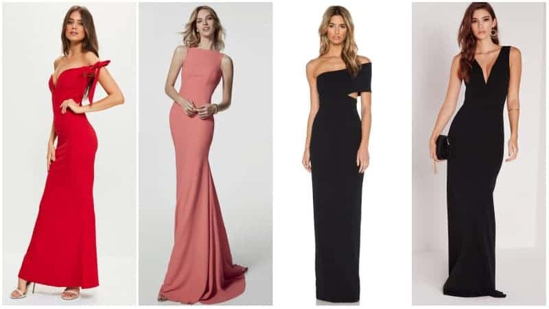 Types of Evening Gowns