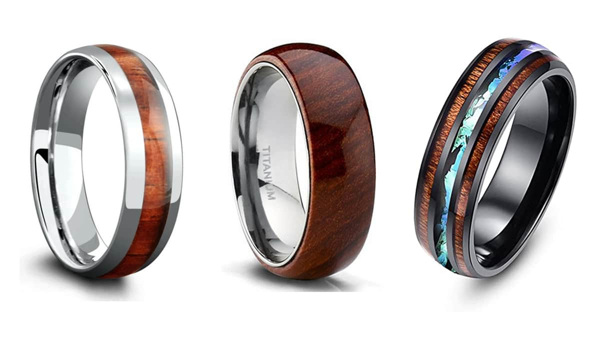 Best Wooden Wedding Rings