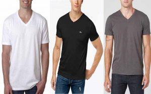 v neck tee shirts