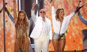 1. On the Floor ft. Pitbull- Jennifer Lopez