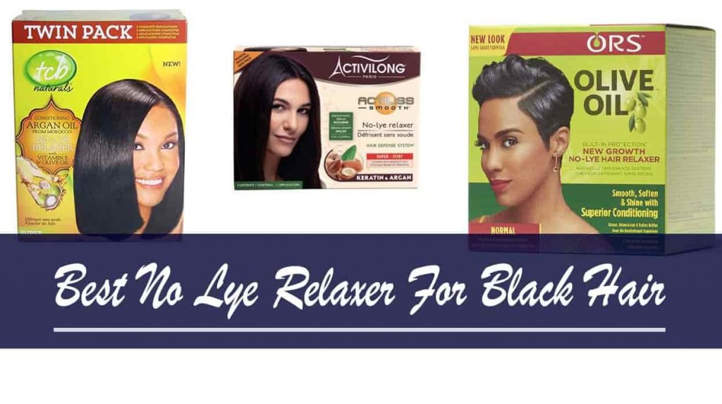Best No Lye Relaxer For Black Hair