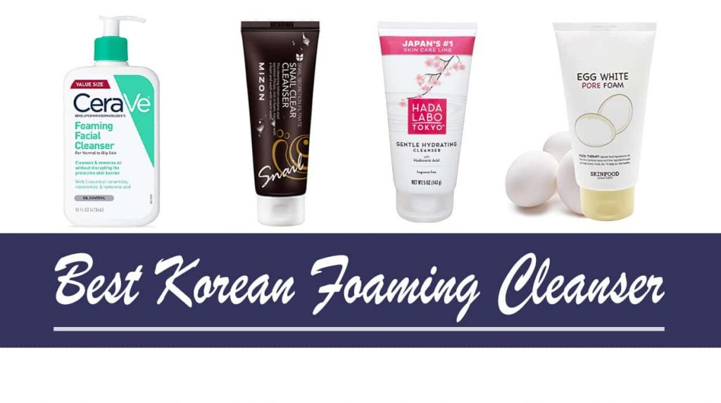 Best Korean Foaming Cleanser