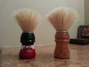 Boar vs. Badger Brush