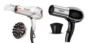 Conair vs. Revlon Hair Dryer