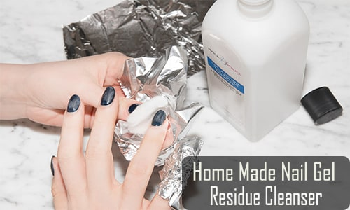 what can i use as a finishing wipe for gel nails
