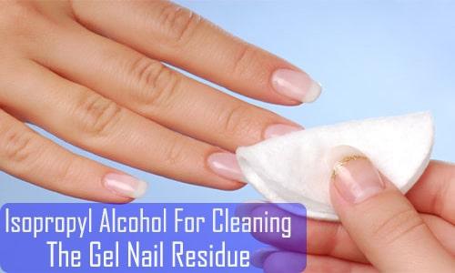 gel wipe off solution alternative