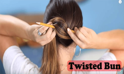 tuck your hair behind your ears