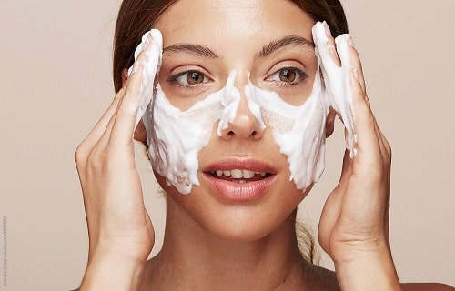 how many times a day should i use cerave foaming facial cleanser