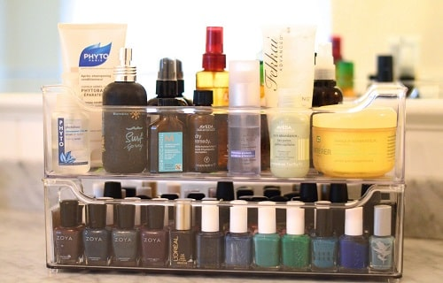 How Was the makeup Product Stored