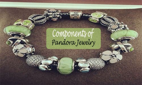 what metal are pandora bracelets made of