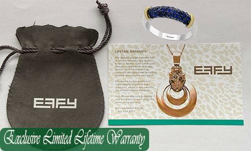 effy jewelry warranty service