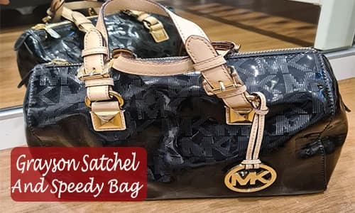 Grayson Satchel and Speedy Bag