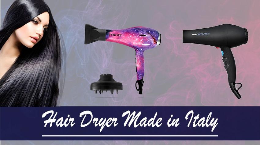 italian hair dryer brands