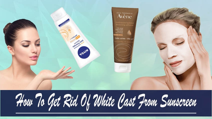 how to apply mineral sunscreen without white cast