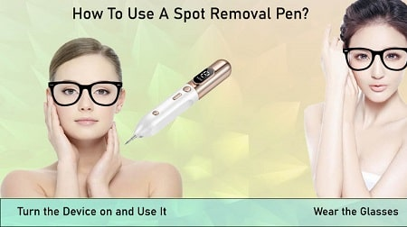 how to use dark spot removal pen
