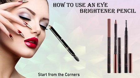 how to apply eye brightener pencil