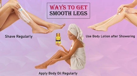 how to keep legs smooth for longer
