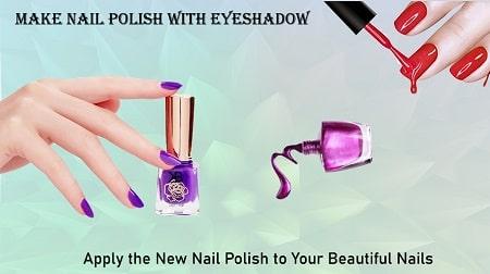 How to Make Nail Polish with Eyeshadow
